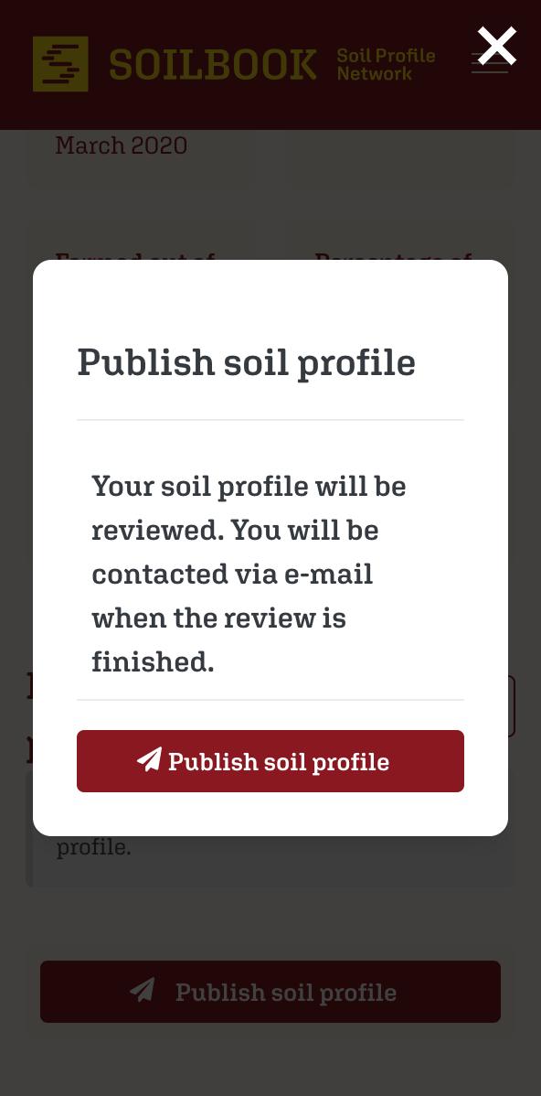 SOILBOOK Tutorial – Veröffentlichen